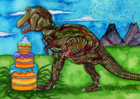 enlarge birthdaysaurusrex