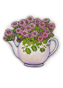 enlarge flowerpot (tea)