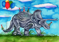 enlargeBirthdaysaurusTriceratops
