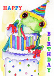enlargeHappy Birthday Frog