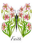 Lily Faith Butterfly